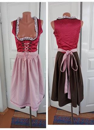 Платье сарафан народный танцевальный сценический октоберфест баварское