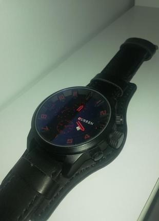 Мужские кварцевые часы бренда curren 8225