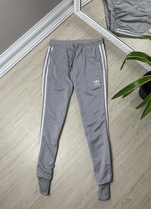 Adidas адидас штаны лосины легинсы серые оригинал спорт