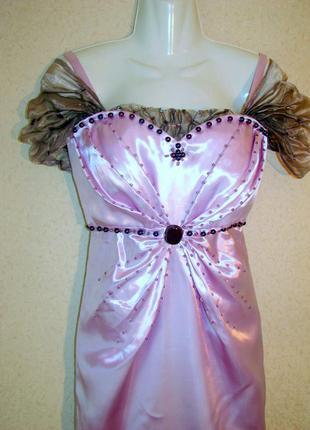 Винтажное корсетное платье ручная работа  арт деко  20-е  выпускной особый случай
