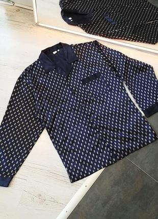 Чоловіча нічна сорочка, піжамна сорочка, ночная рубашка