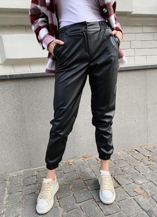 Штаны,брюки из эко-кожи