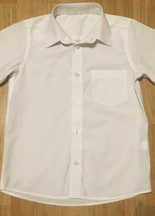 Рубашка back to school мальчику,р.122-128