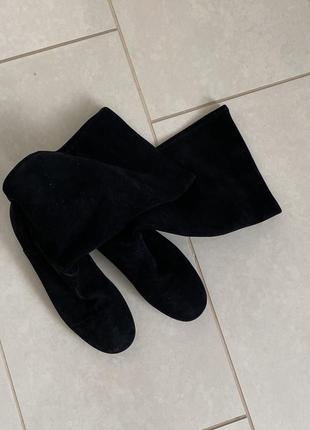 Офигенные кожаные сапоги bally размер 37,5-38