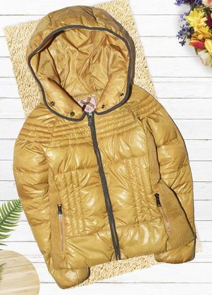 Тёплая куртка с капюшоном silvian heach