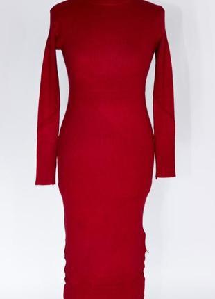 Платье футляр, платье резинка, платье гольф  рубчик moni&co