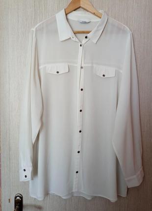 Рубашка блуза george большой размер