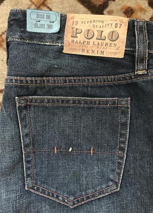 Оригинальные качественные джинсы polo ralph lauren 381 slim