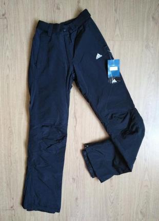 42. очень теплые мужские зимние штаны adidas на синтепоне, размер на выбор.