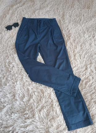 Женские классические брюки синие