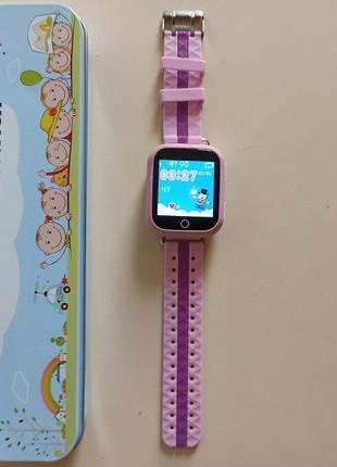 Детские умные часы  q750 с отслеживателем