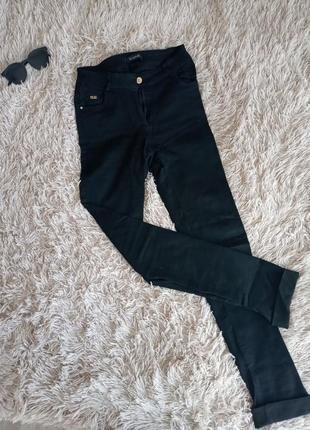 Женские черные штаны повседневные