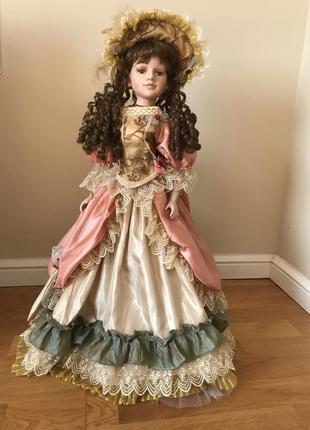 Форфоровая кукла { лялька } 70 см.