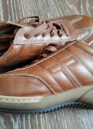 Кожаные кроссовки tommy hilfiger оригинал