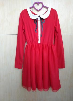 Платье h&m на 8-10 лет