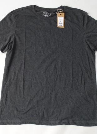 Базовая серая футболка new look л нюанс