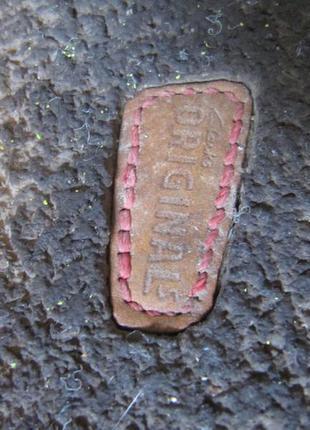 Босоножки кожаные коричневые кларкс clarks 25,5 см4