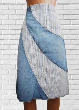 В наличии стильная джинсовая юбка ware denim denim co denim co denim co