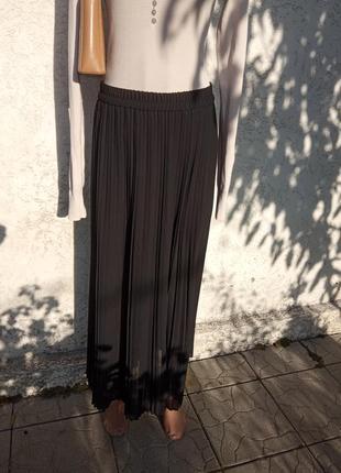 Плиссированная юбка длинны макси