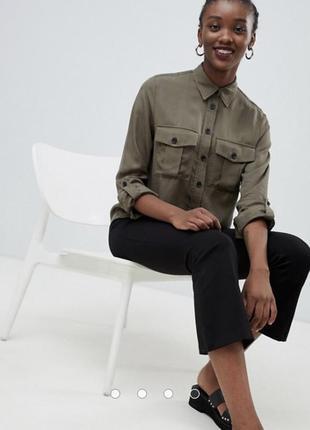 Рубашка кольору хакі від new look🌿