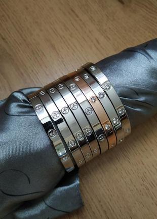 Браслет на руку с медицинского серебра