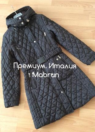 Актуальное стёганное пальто  синтепон . премиум италия 🇮🇹