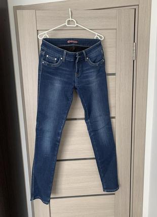 Утеплённые джинсы на зиму! идеальное состояние!
