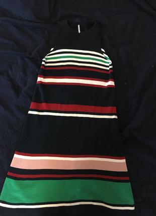 Платье вязаное хлопковое stradivarius
