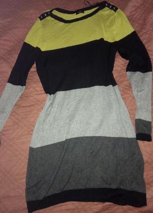 Трикотажное платье 54р.