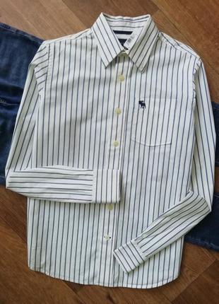 Стильная рубашка в полоску, сорочка, блузка, оверсайз, бойфренд