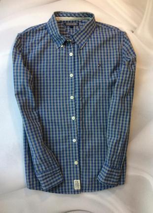 Рубашка tommy hilfiger рост 152см, примерно 10,11,12 лет(на подростка) оригинал