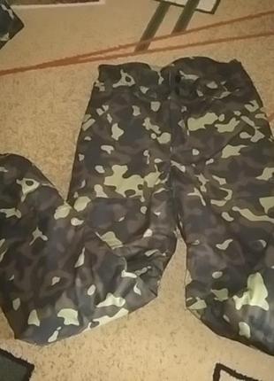 Утепленные брюки, зима, спецодежда. размер 48