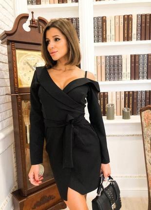 Хит продаж!!! платье пиджак на одно плечо