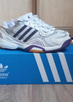 Женские кроссовки adidas opticourt 40 р , беговые,осенние,белые