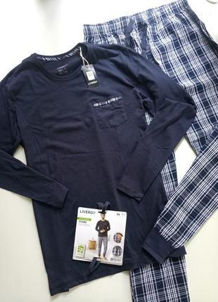 Домашний комплект пижама от немецкого бренда livergy м, л