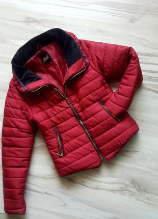 Куртка короткая,модная теплая куртка