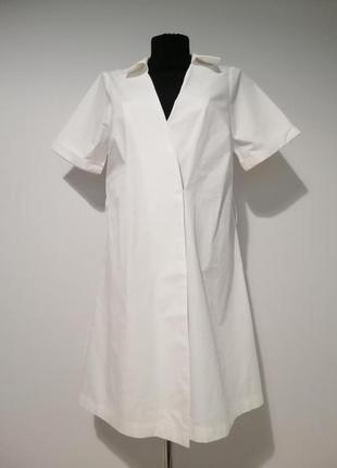 Стильная удлиненная рубашка на запах