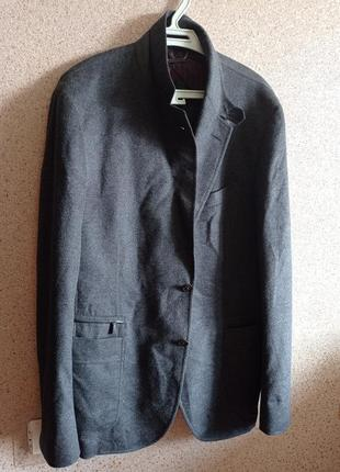 Ermenegildo zegna шикарное шелковое полупальто пиджак оригинал.