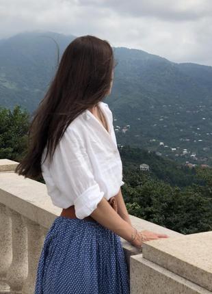 Блузка, кофта, рубашка h&m лён { не zara}