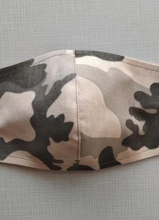 Женская мужская маска  в стиле милитари , камуфляж