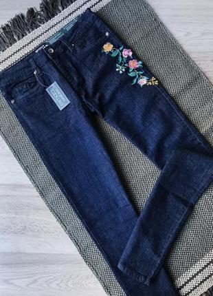 Нові джинси з вишивкою
