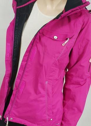 Salomon pro climate pink женская лыжная куртка