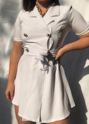 Платье-пиджак🤍