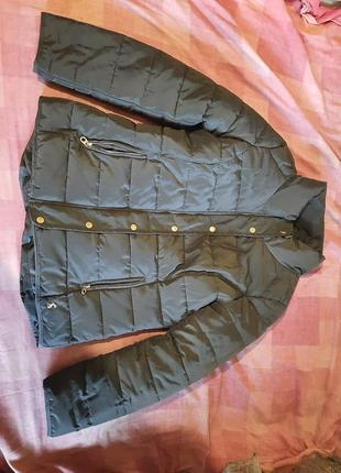 Шикарная женская курточка пуховик
