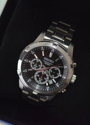 - 30% | мужские часы хронограф seiko chronograph 43 мм sks605 (оригинальные, с биркой)