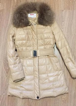 Пальто, куртка кожзам