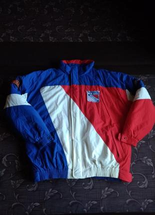 Клубная куртка rangers nfl nhl nba mlb starter xl зимняя