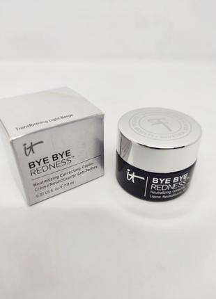 Нейтрализующий крем для коррекции цвета it cosmetics bye bye