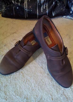 Женские мокасины туфли ecco