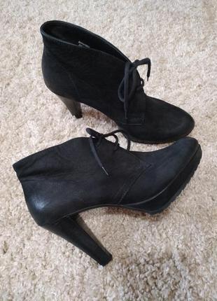 Ботинки кожаные австрия 38 размер